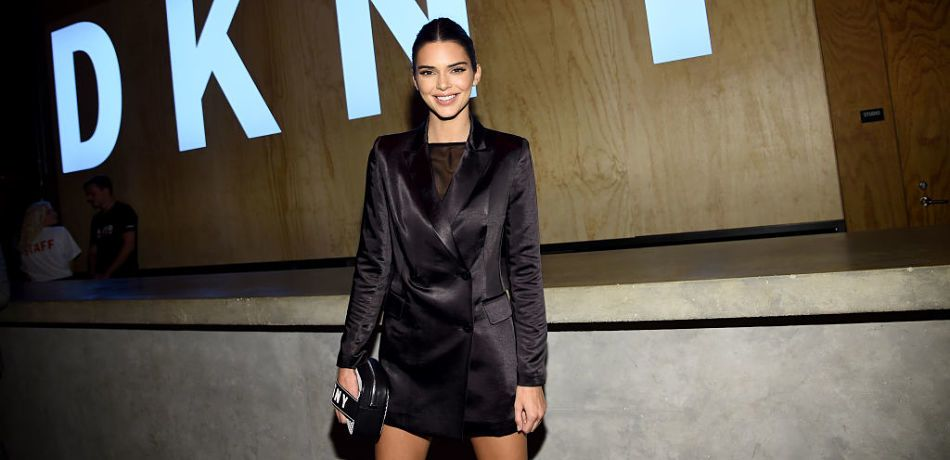 Kendall Jenner Models Without Pants In One Look From Amongst A Wardrobe Fit For 'Vogue'