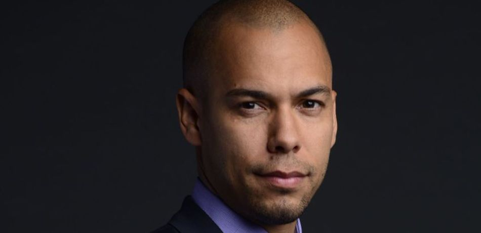 Bryton James as Devon Winters on The Young and the Restless.