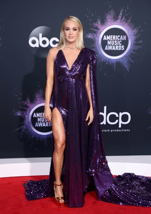 Carrie Underwood attends the 2019 American Music Awards