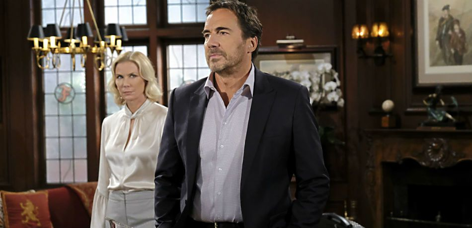 Katherine Kelly Lang and Thorsten Kaye star in 'The Bold and the Beautiful.'