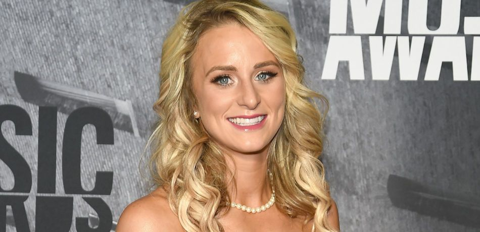 TV personality Leah Messer attends the 2017 CMT Music Awards at the Music City Center on June 7, 2017 in Nashville, Tennessee.
