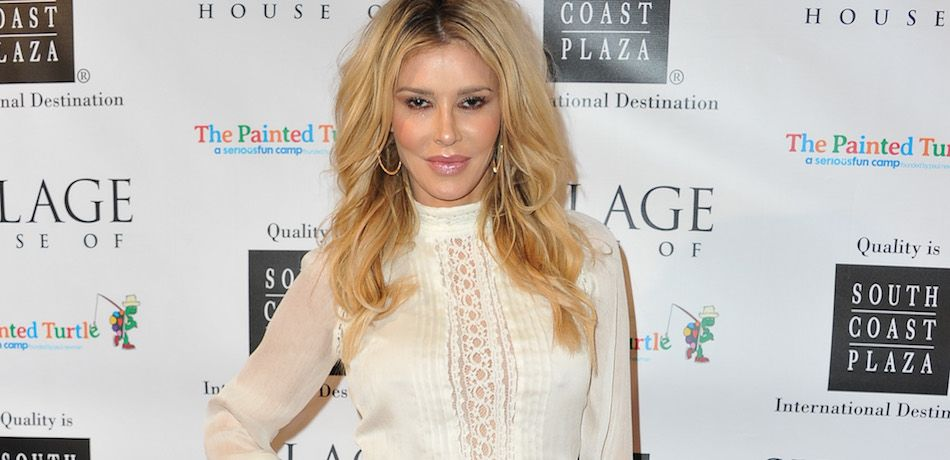Brandi Glanville attends the House of Sillage Holiday Boutique Launch event.