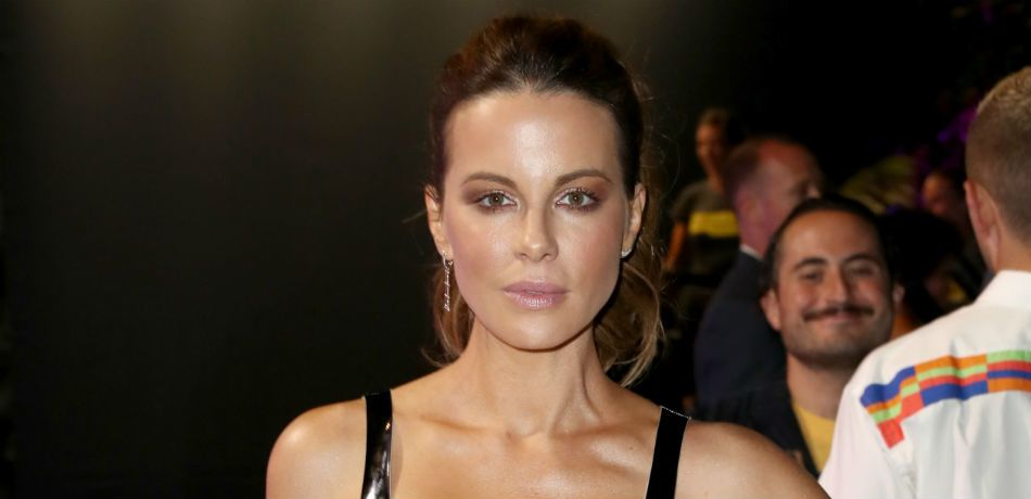 Kate Beckinsale poses for a photo in Beverly Hills.