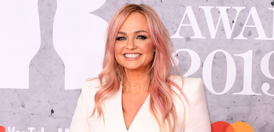 Emma Bunton attends The BRIT Awards 2019 held at The O2 Arena on February 20, 2019 in London, England.