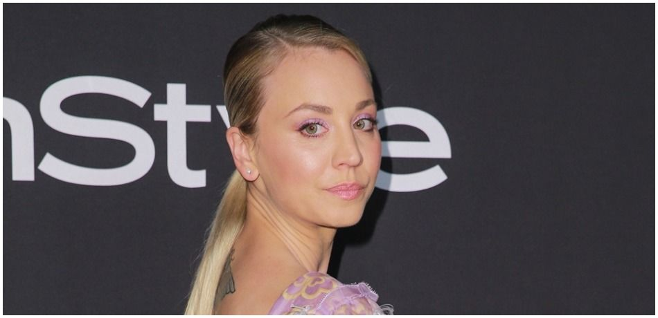 Kaley Cuoco attends the 2018 InStyle Awards at The Getty Center