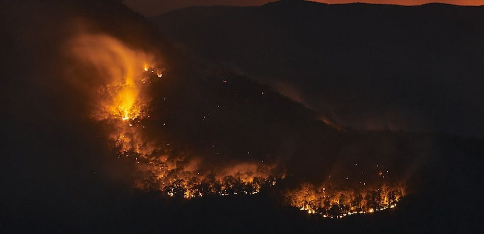 Australia Fire Map That Has Gone Viral Is Not Accurate