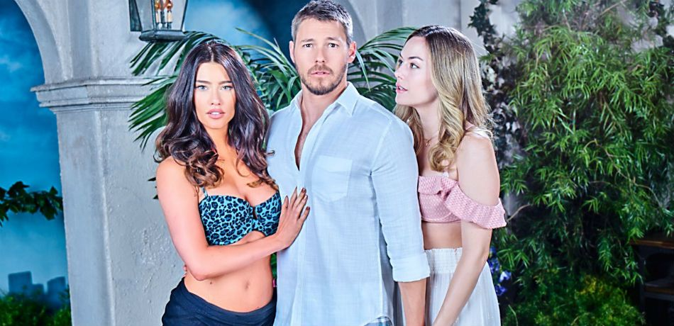 Jacqueline MacInnes Wood, Scott Clifton, and Annika Noelle star in 'The Bold and the Beautiful.'