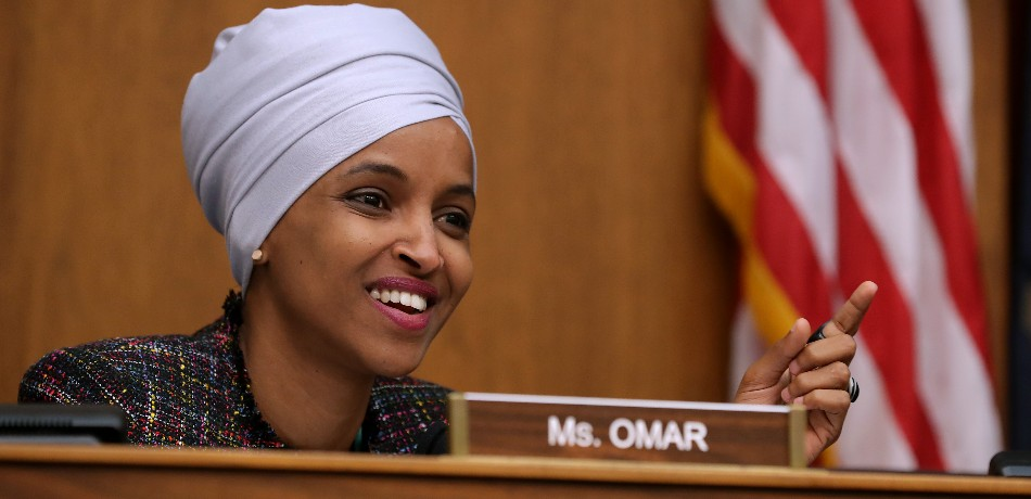 Ilhan Omar in the House of Representatives.