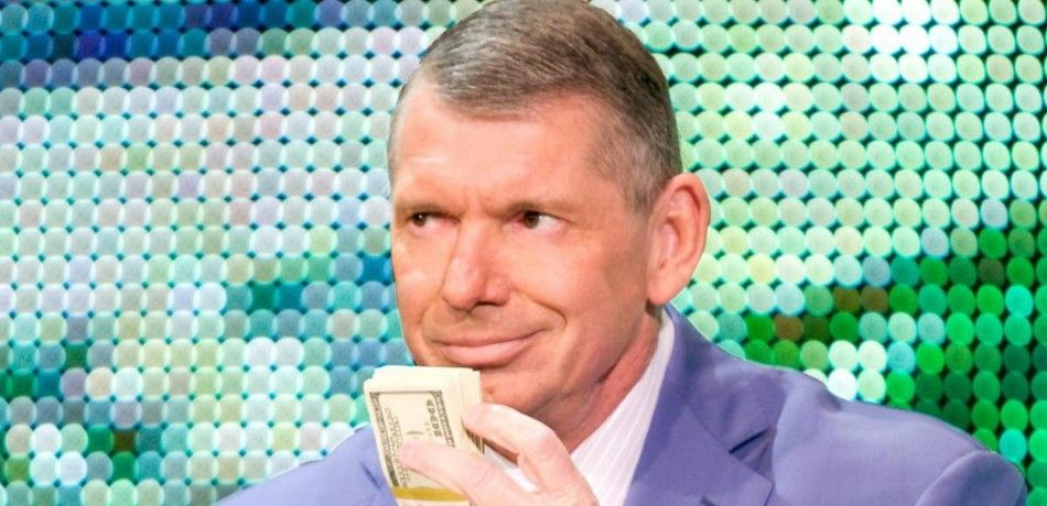 Vince McMahon flashes his cash on WWE television