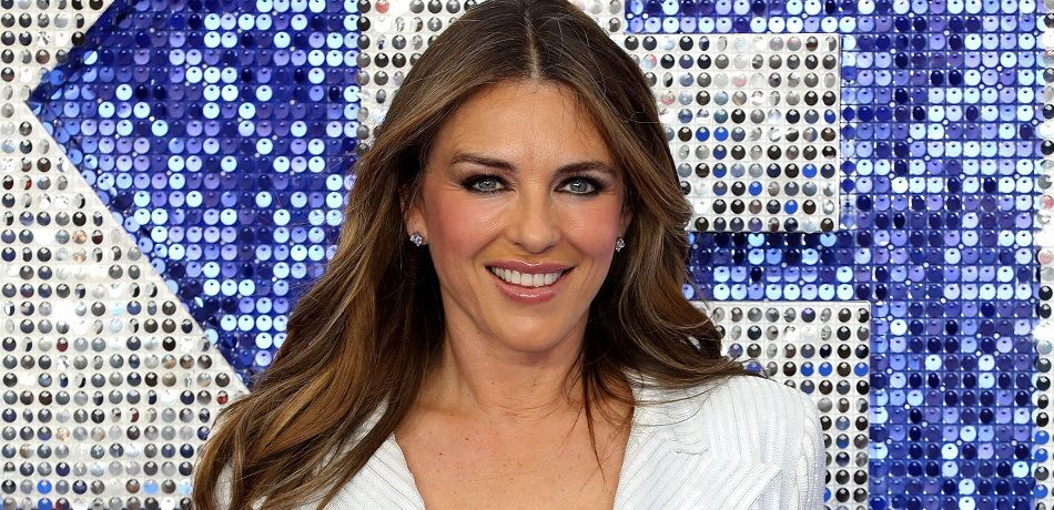 """Elizabeth Hurley attends the """"Rocketman"""" UK premiere at Odeon Luxe Leicester Square"""