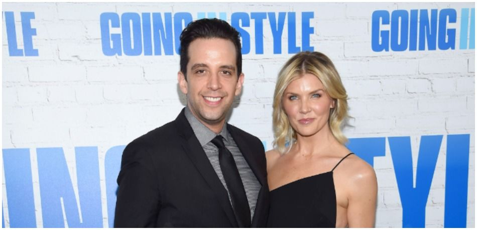 Nick Cordero and Amanda Kloots attend a premiere in New York
