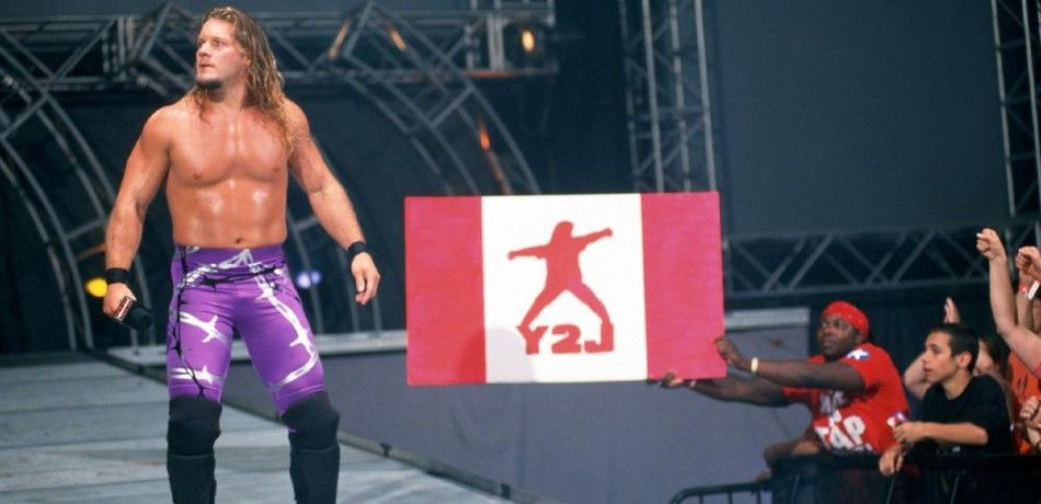 Chris Jericho makes his way to the ring