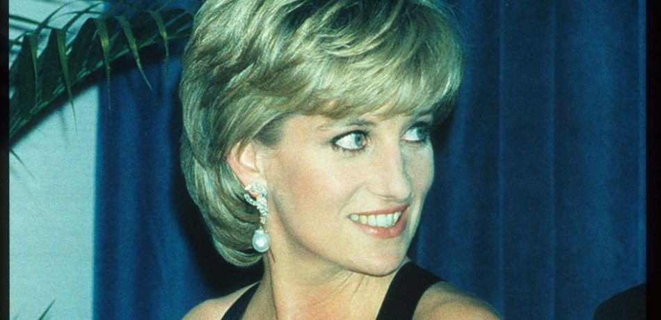 Princess Diana is pictured at an event.