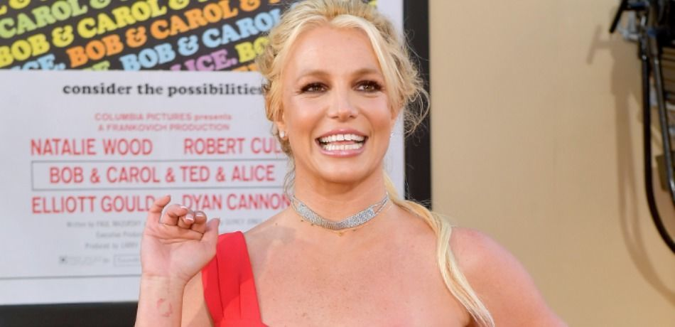 """Britney Spears attends Sony Pictures' """"Once Upon A Time...In Hollywood"""" Los Angeles Premiere"""