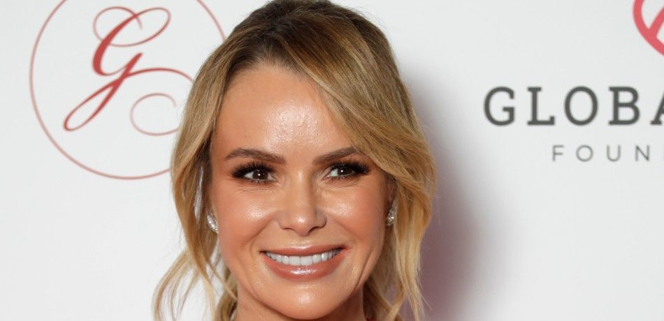 Amanda Holden attends the annual Global Gift Gala London at Kimpton Fitzroy Hotel on October 17, 2019 in London, England.