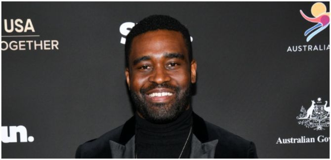 Keo Motsepe poses at an event.